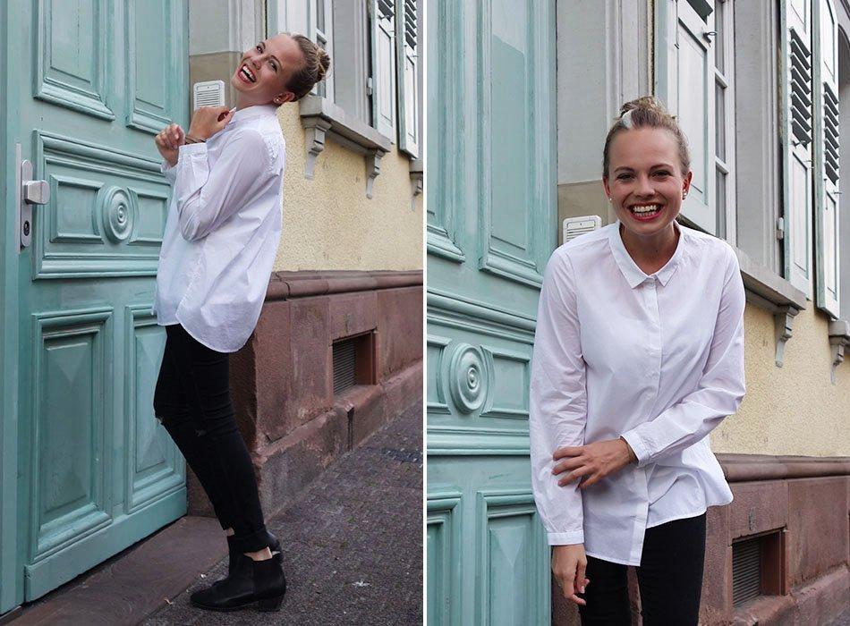 lanius köln, fair fashion, weiße bluse, hemd kombinieren, ekulele,