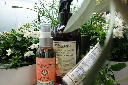 loccitane, naturkosmetik, ekulele, vorfreude auf den sommer, aromachologie, ätherische öle