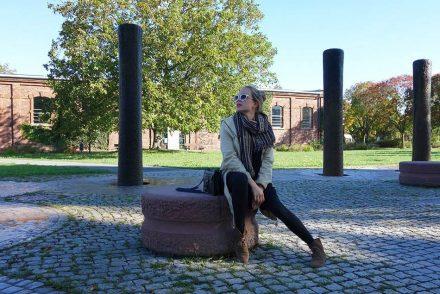 Parka, Herbstlook, autumnlook, mamablog, casual, streetstyle karlsruhe, kleid und mantel