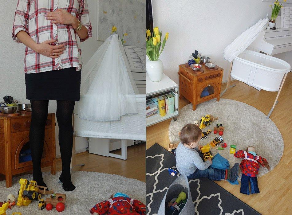 ekulele, schwanger, wiege, erstausstattung, schaukel, mama, schwanger, kinderzimmer, wohnzimmer, schlafen, baby, kleinkind, mama und sohn, spielzeit, baby update