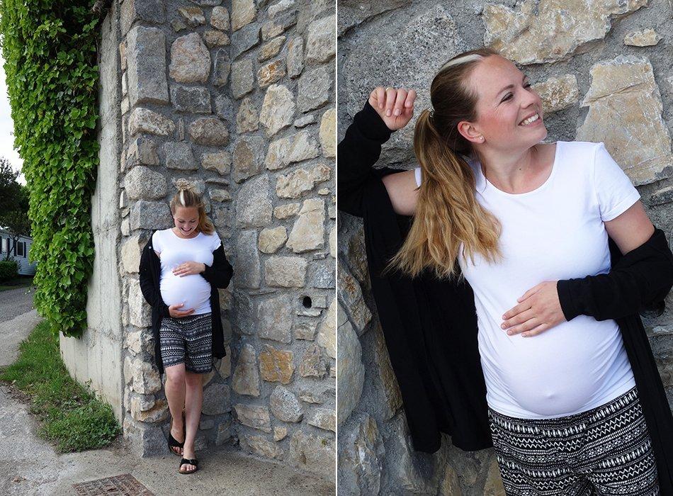 schwangerschaft, ekulele, mama werden, großer bauch, normal, gesund, zweite Schwangerschaft, ischias, urlaub, reisen, siebter monat