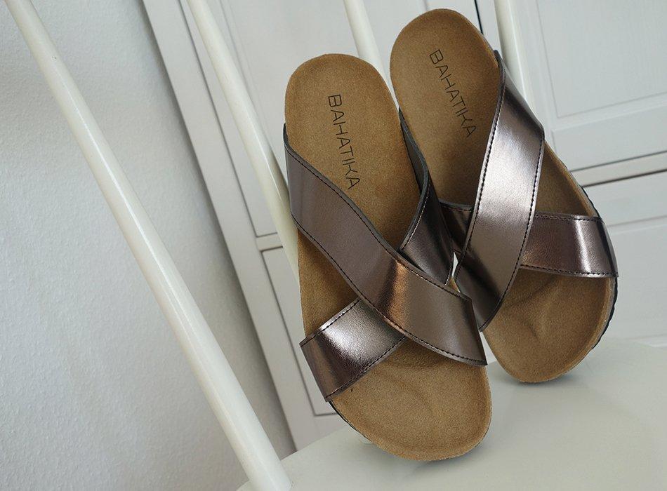 vegan, sandalen, modisch, gut, ekulele, fairfashion, blog, nachhaltigkeit, metallic, trend, sommer
