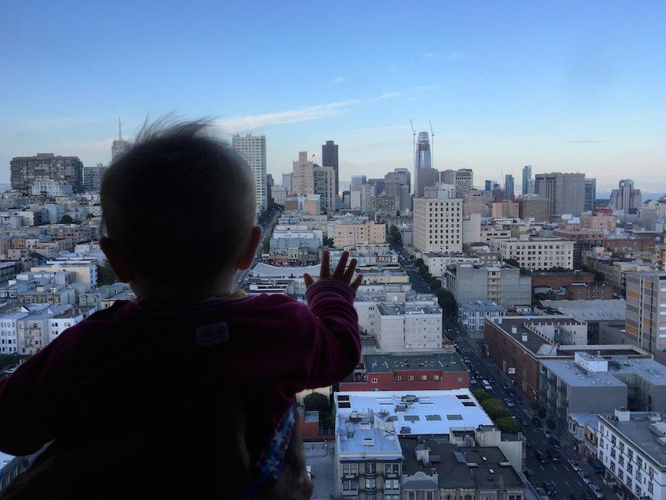 Baby in San Francisco