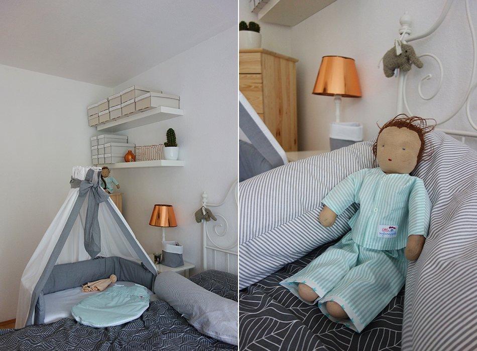 Charming Kleines Schlafzimmer Mit Baby 3 #12: Ekulele, Baby, Schlafen, Babybay, Nestchen, Betthimmel, Schlafzimmer,  Neugeborenes,