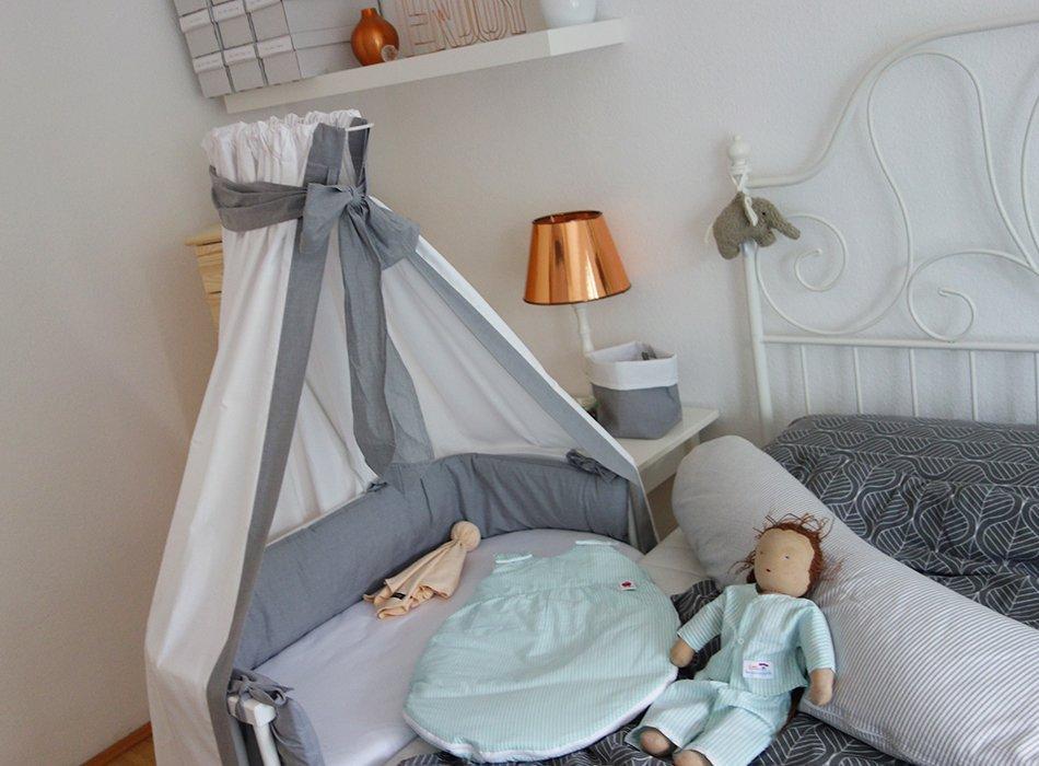 babys kleines reich babybay nestchen und betthimmel ekulele familienleben rezepte mode. Black Bedroom Furniture Sets. Home Design Ideas